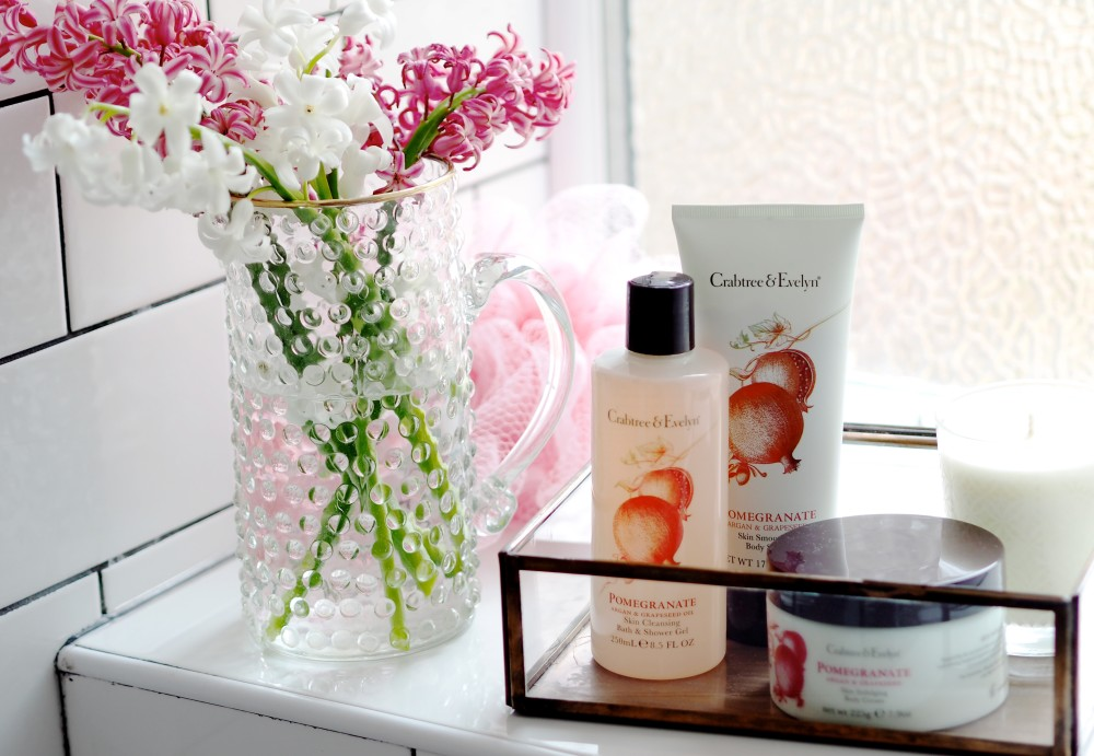 crabtree & evelyn Pomegranate, Argan & Grapeseed