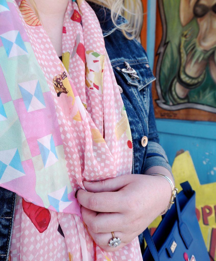 cleo-ferin-merciry-fashion-scarf-pink