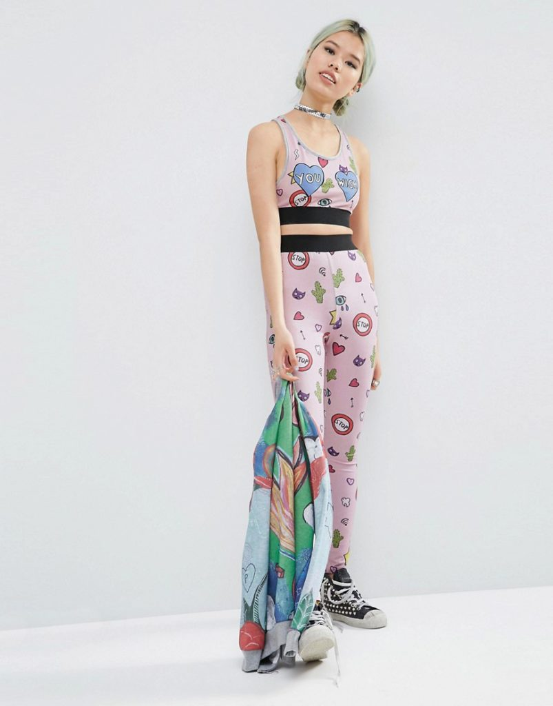 ASOS X Phiney Pet Collaboration asos co-ord set