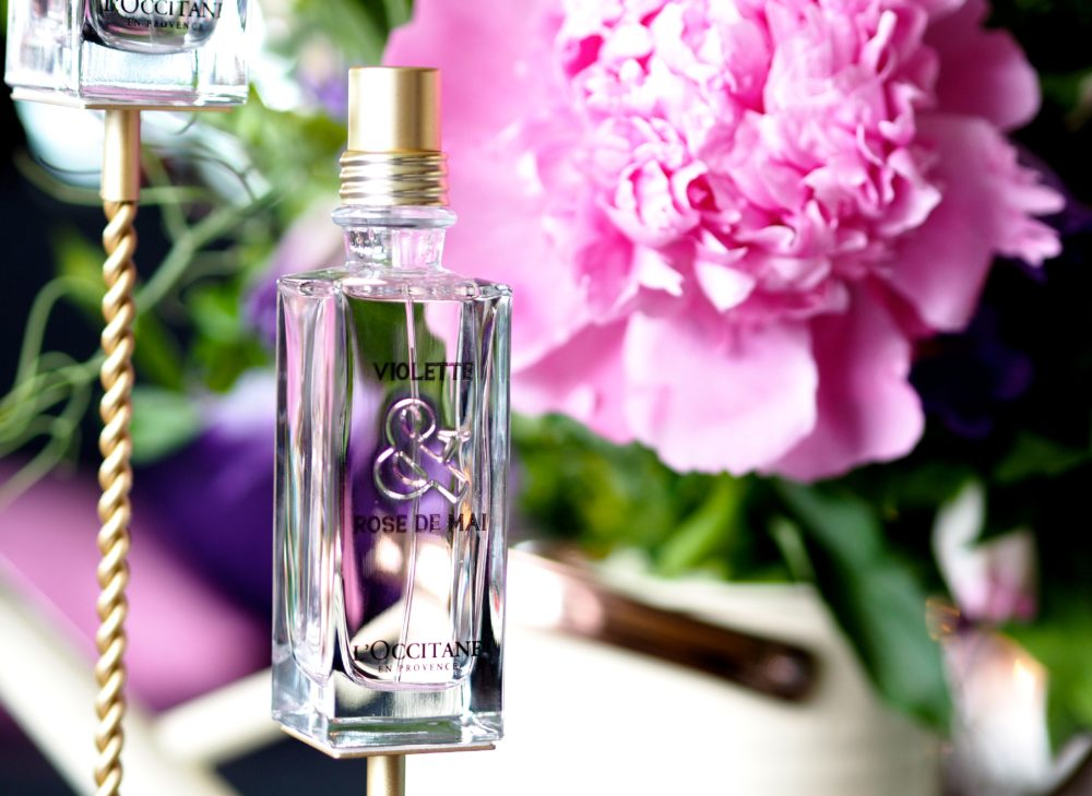 L'Occitane Violette & Rose de Mai perfume review bottle fragrance new limited edition