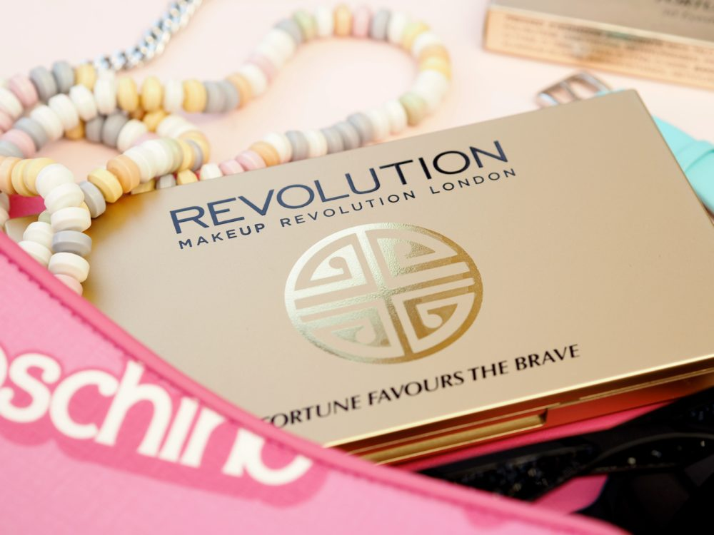 Makeup-Revolution-X-BritishBeautyBlogger-gold-box-fortune-favours-the-brave