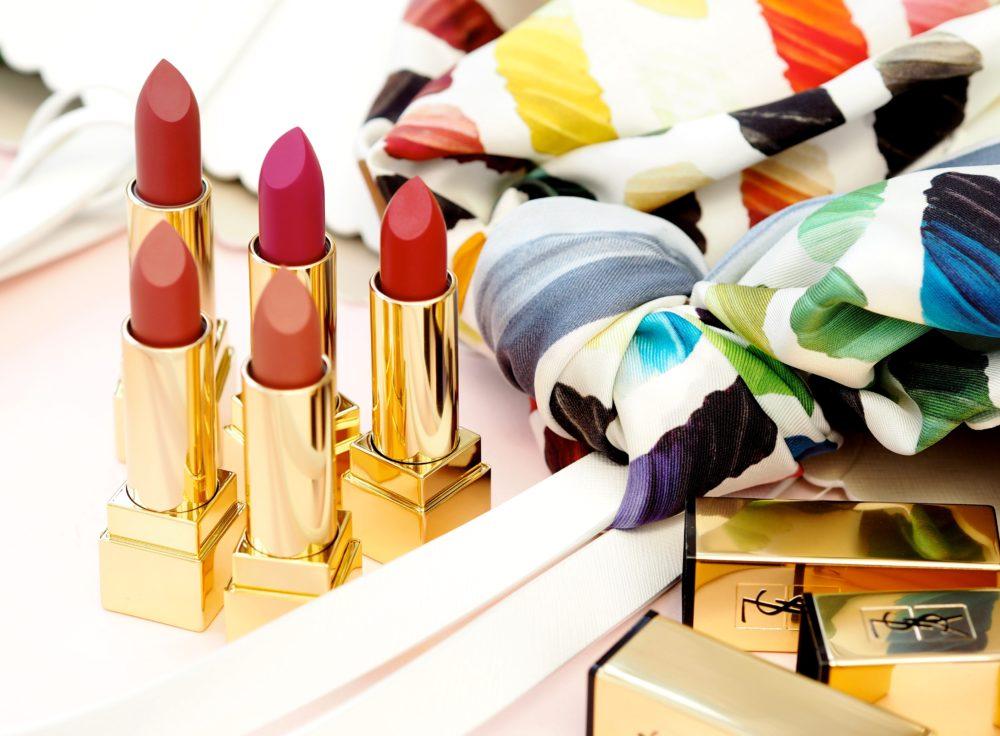 Beauty: YSL Beauté Introduce Five New Shades Of Matte Lipsticks