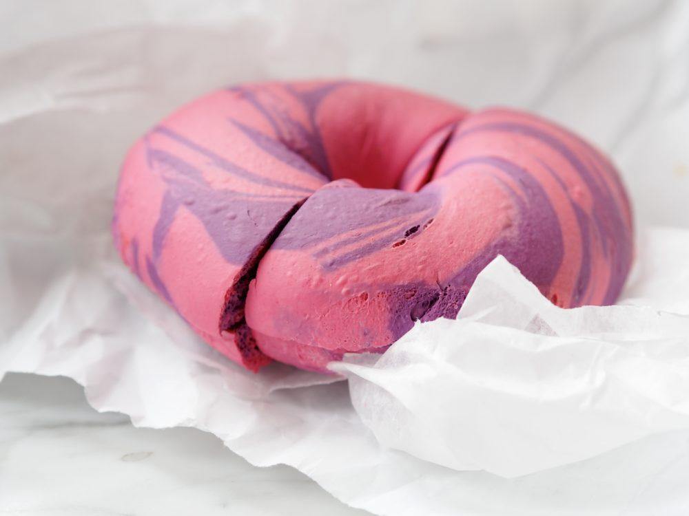 pink-and-purple-bagel-brooklyn-williamsburg-new-york