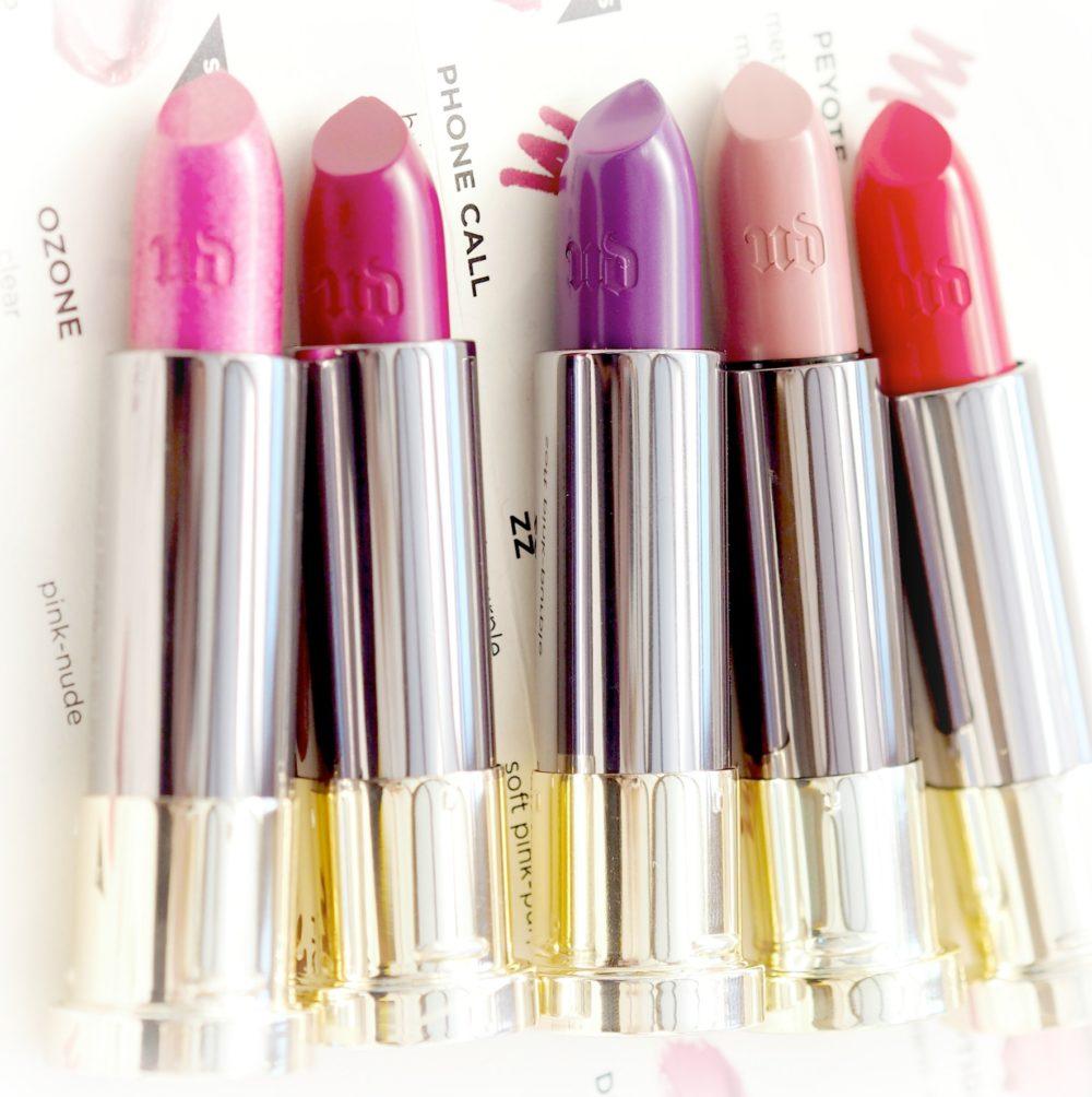 Urban Decay Vice Lipsticks beauty blogge