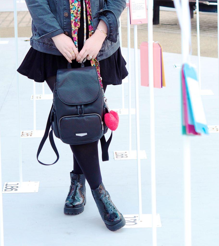 kipling-london-rucksack-black-leather