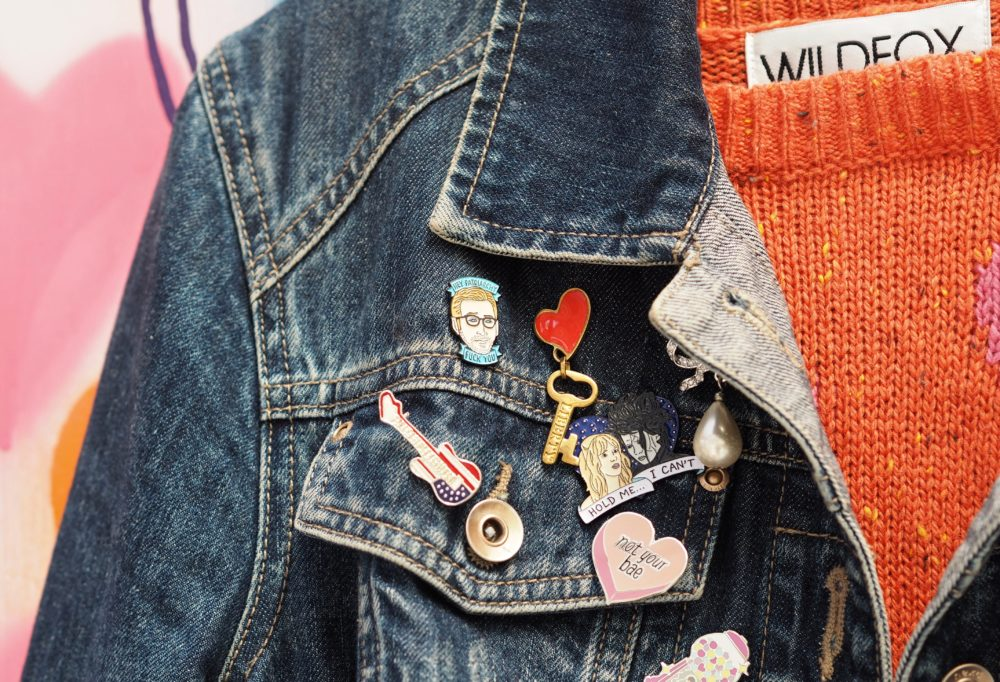 Charity Shops and Vintage Shops pin badges