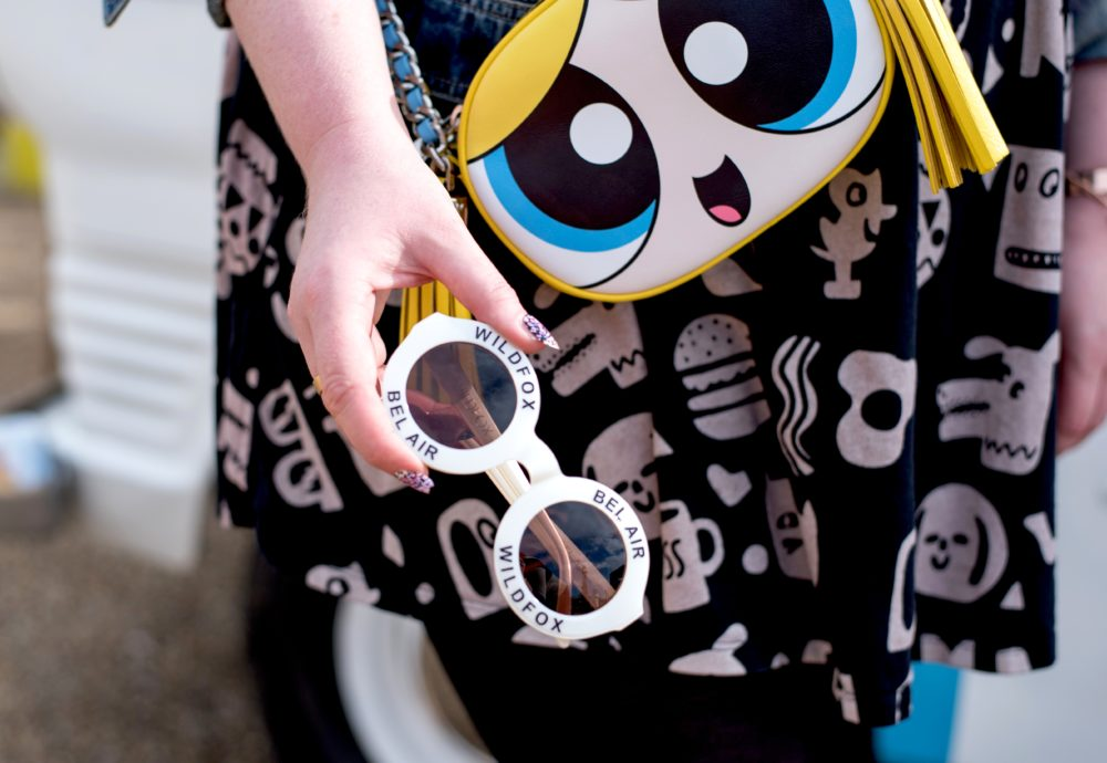 OOTD: Moschino Bubbles Handbag