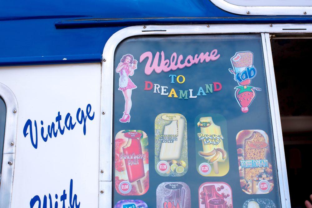 ice cream van dreamland margate