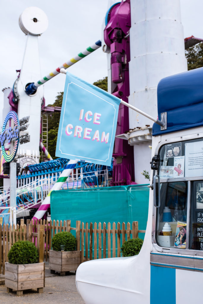 ice cream van margate dreamland