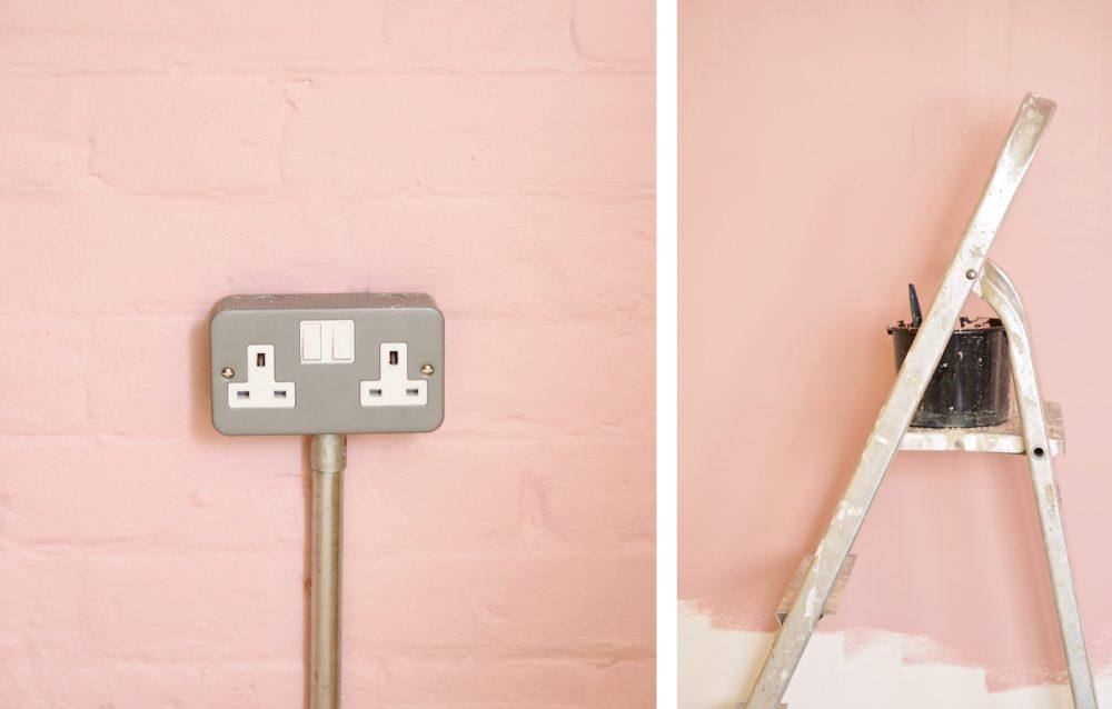 pink walls valspar paint