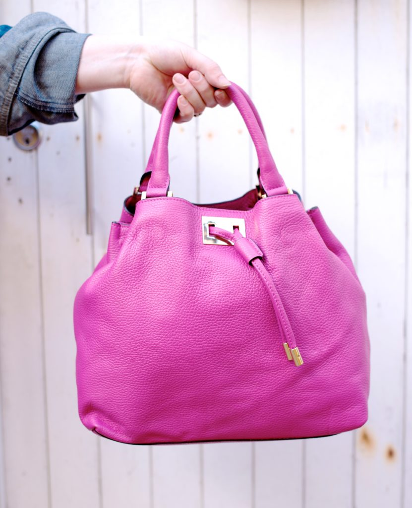 boden pink handbag slouch tote