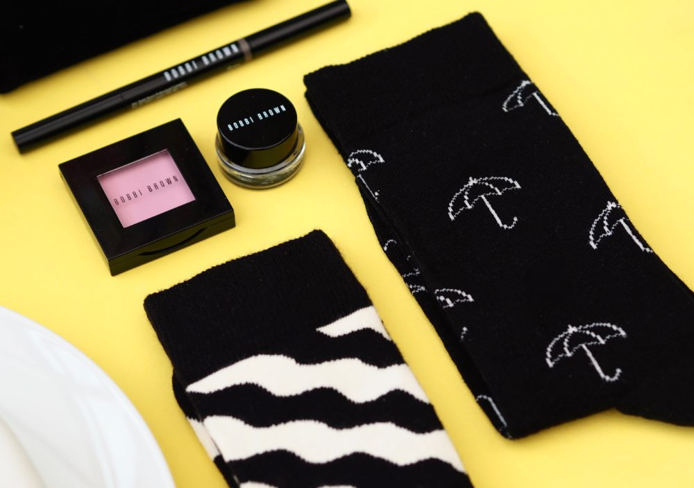 Happy-Socks-umbrella-socks-black