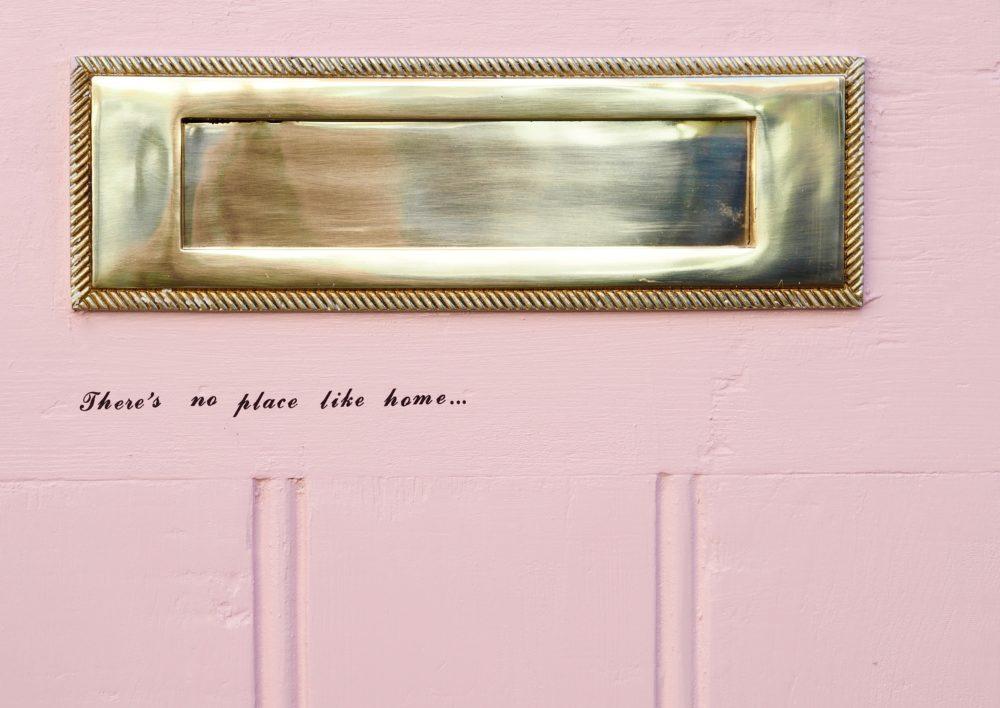 Home: Pink Door Makeover