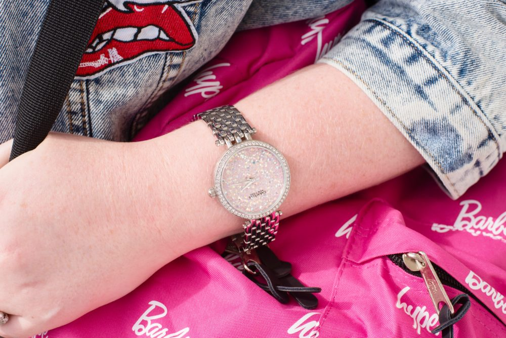 caravelle-new-york-pink-crystal-watch