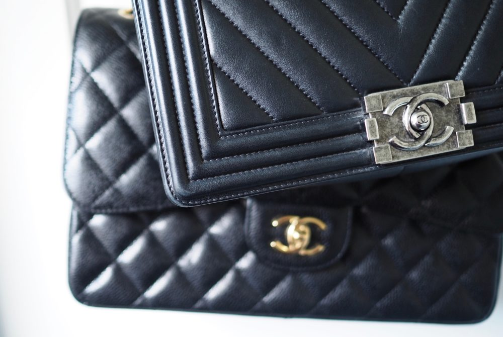 139ebee68c29 Chanel Handbags: Caviar Leather or Lambskin? - Fashion For Lunch.