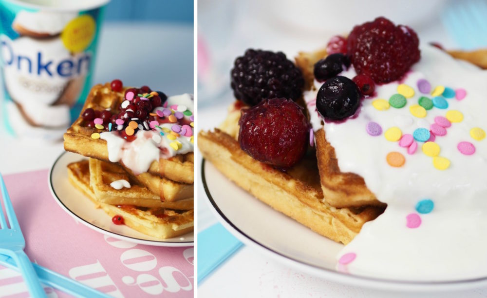 limited-edition-onken-coconut-yogurt-fruit-jam-sprinkles-waffles