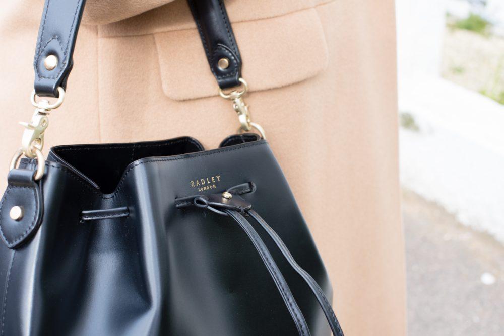 radley london bucket bag black mcarthurglen handbag