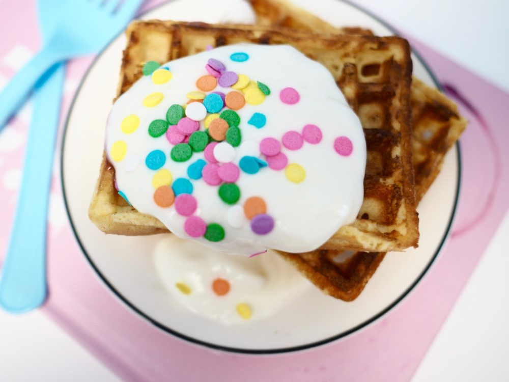 waffles-and-onken-yogurt-with-multicoloured-sprinkles