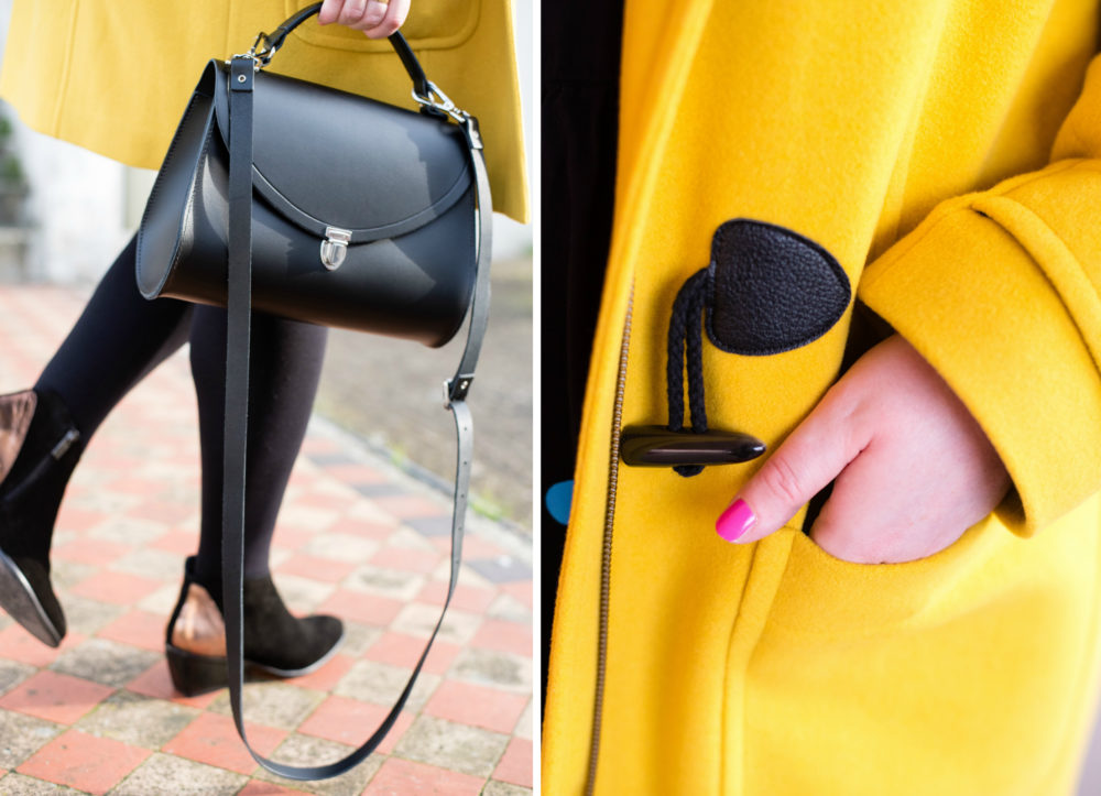 Ootd want to bet on that fashion for lunch for Boden yellow bag