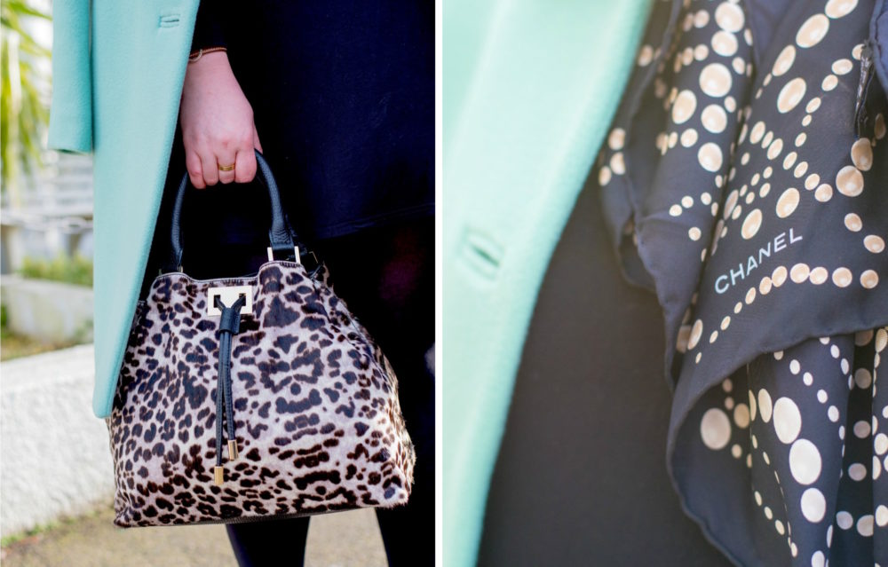 boden snow leopard handbag bag