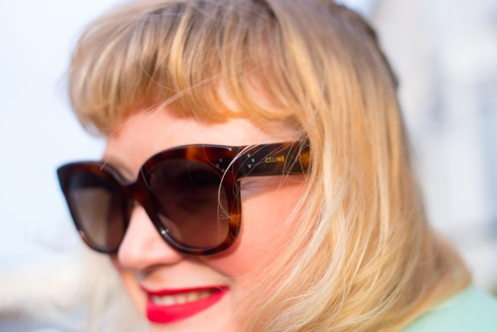 celine sunglasses audrey style fashion blogger
