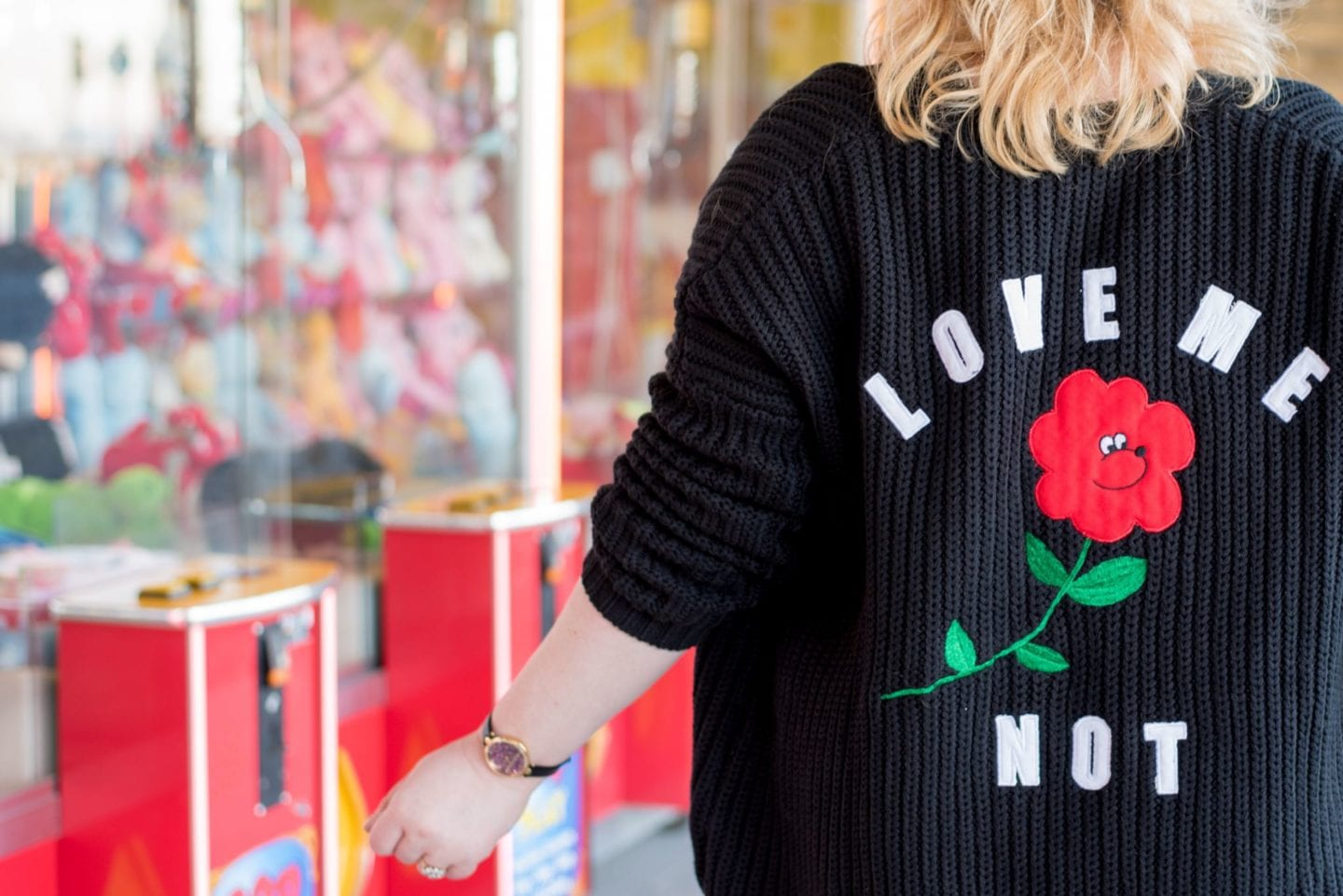 asos x lazy oaf exclusive cardigan