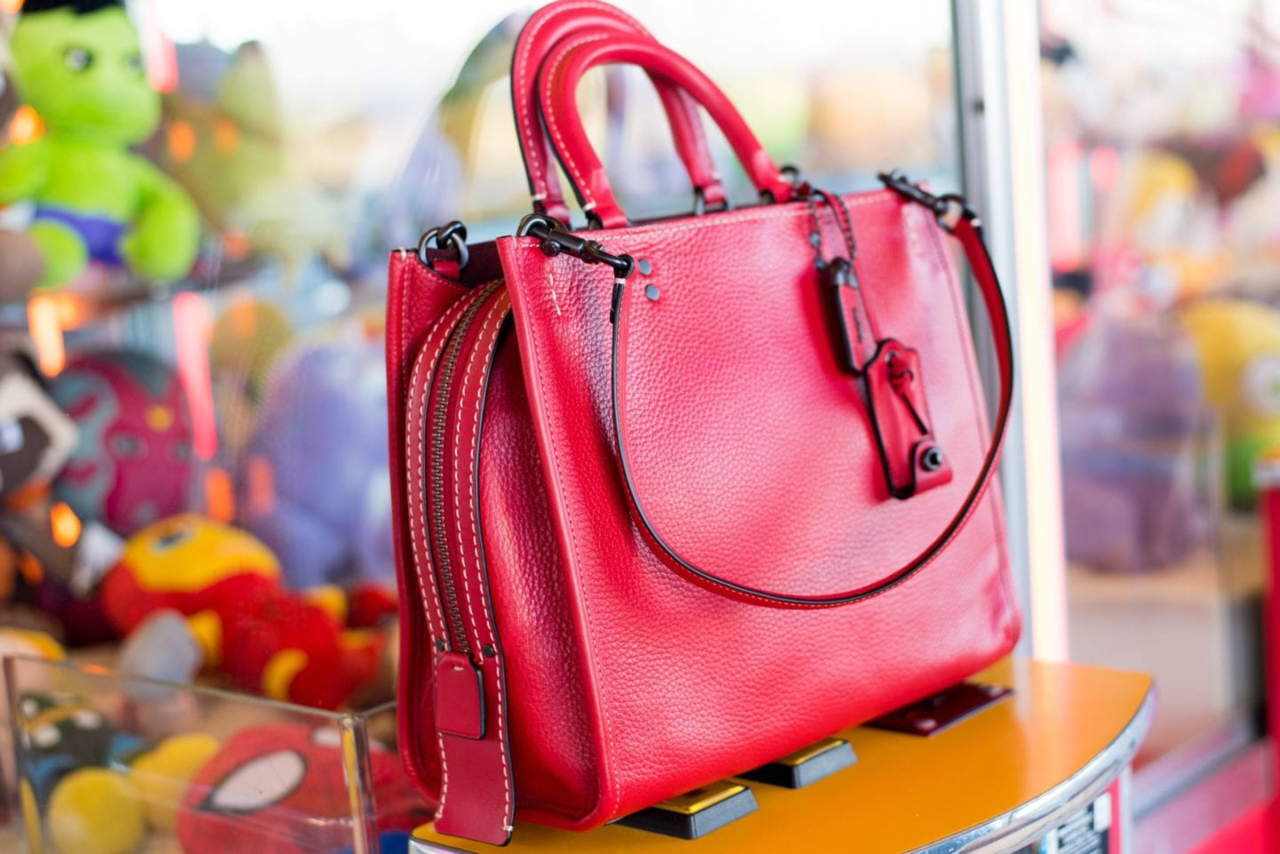 coach go rogue handbag red