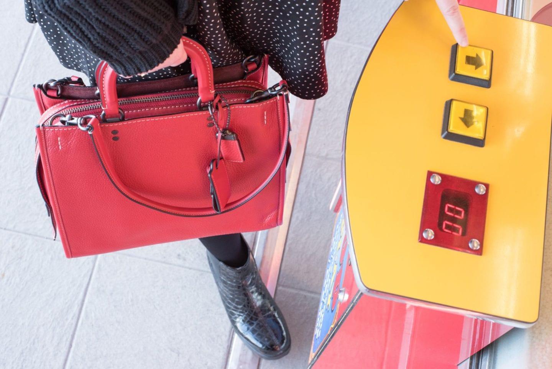 coach go rogue handbag red fwis