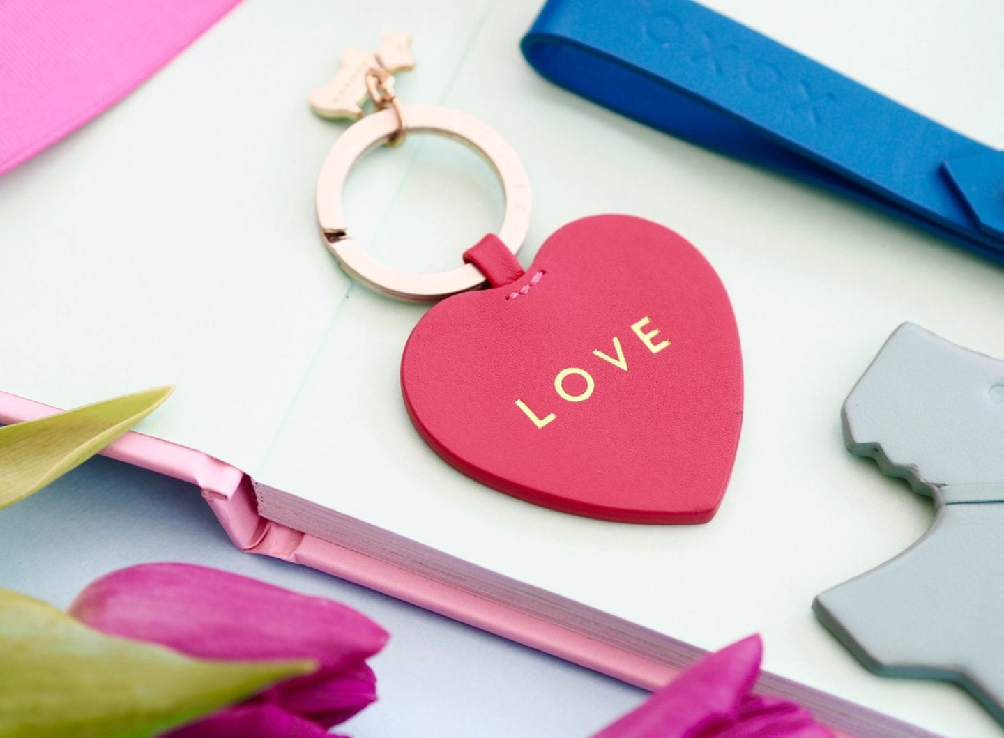my-radley-heart-shaped-keyring