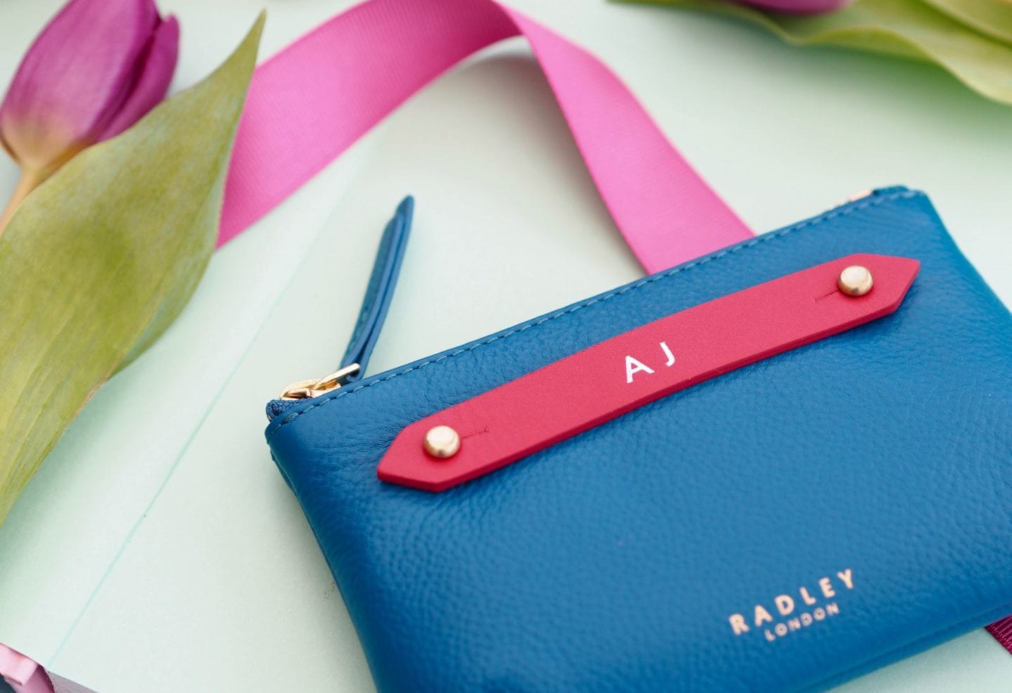 my-radley-personalised-pouch-blue