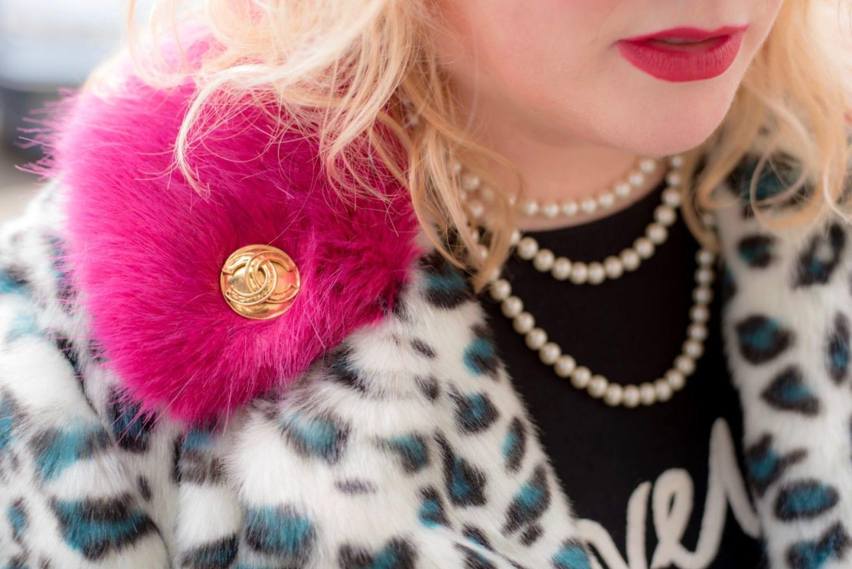 chanel gold tone brooch 80's 90's vintage heirloom designer
