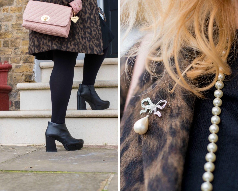 fashion for lunch blog marc b handbag pink penny style