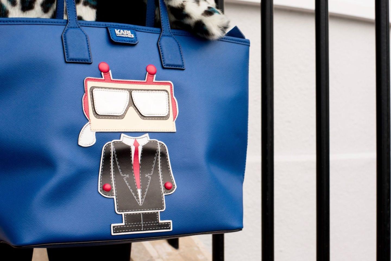 karl lagerfeld handbag robot very exclusive