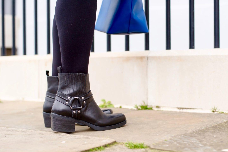 vagabond boots love the sales black leather