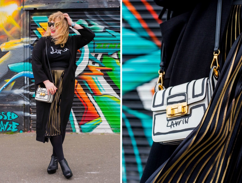 fashion for lunch blog lanvin handbag
