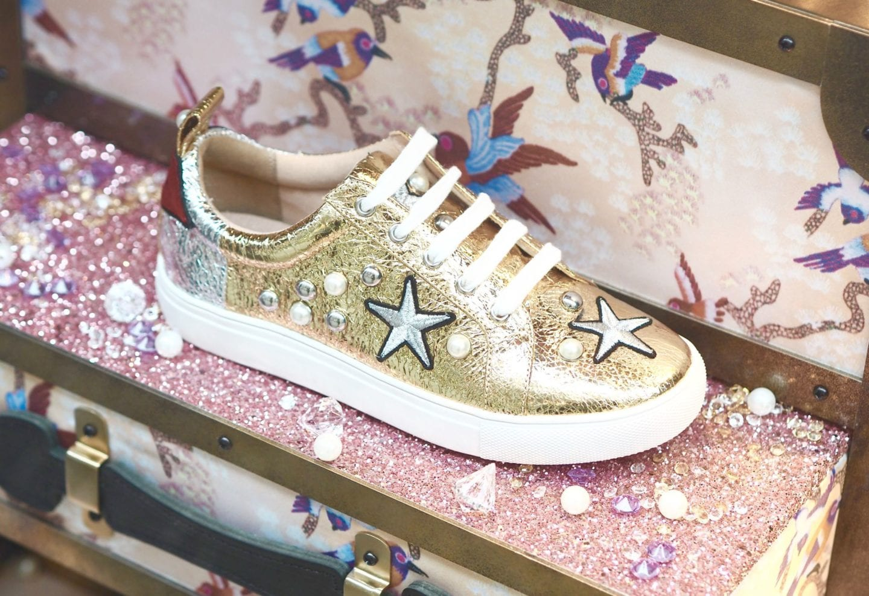 kurt-geirger-shoes-metallic-trainers