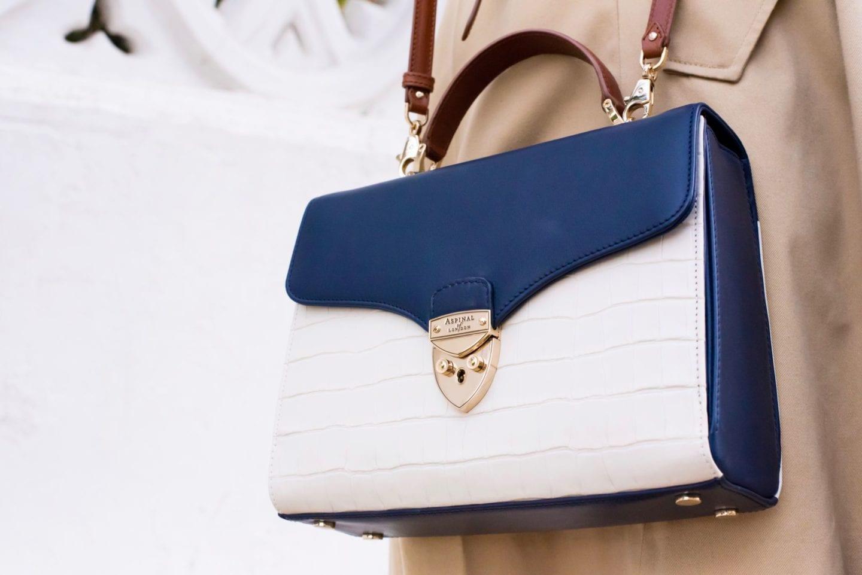 aspinal of london mayfair handbag worn blogger