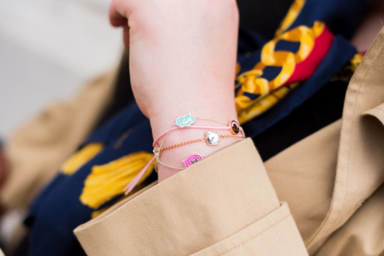ruiffer bracelet emoji face string beach