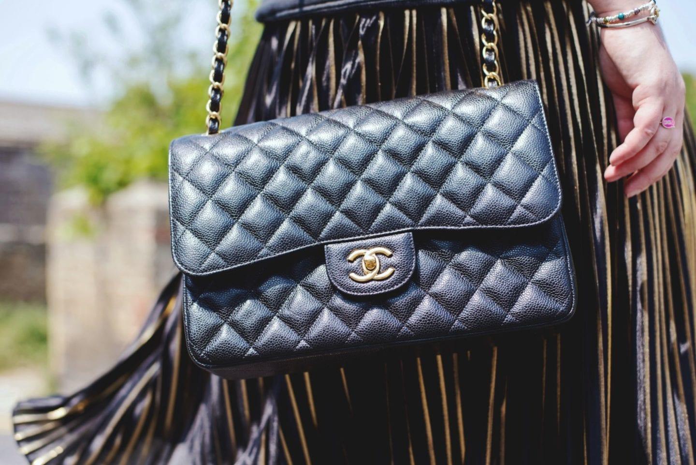Chanel Black Caviar Handbag