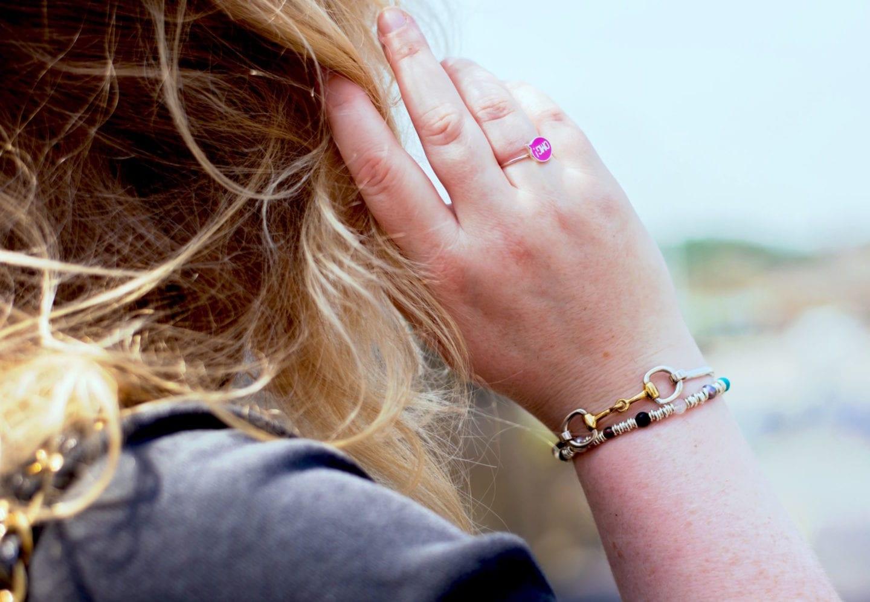 Hiho Silver Bracelets snaffle