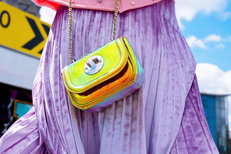 Hill & Friends Handbag mermaid shimmer