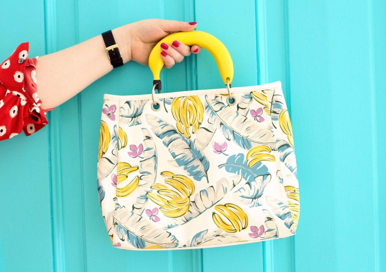 cath kidston banana handbag