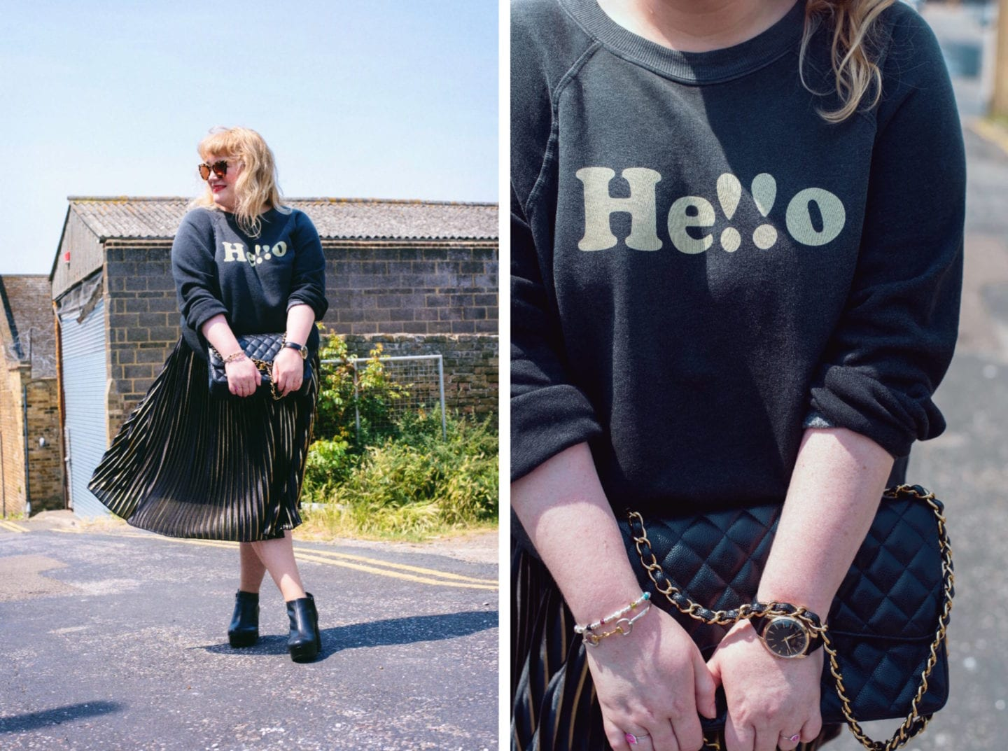 fashion for lunch hello wildfox jumper