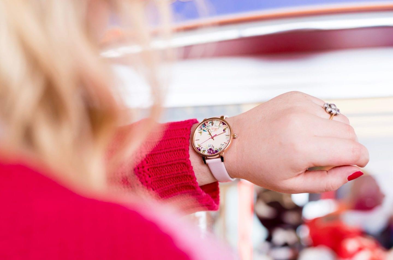 ted baker watch floral flower print design designer