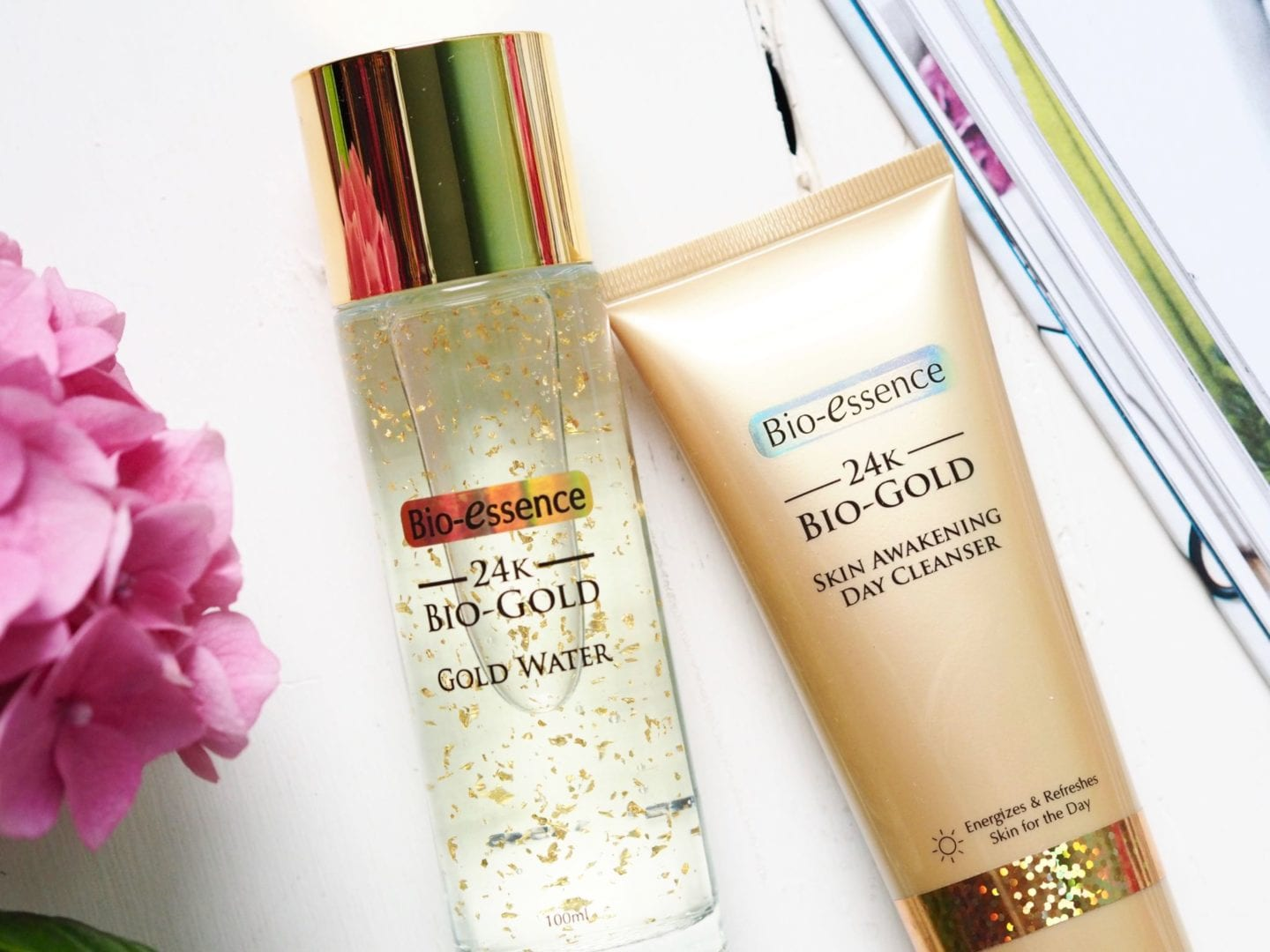 24k gold skin care review beauty blogger