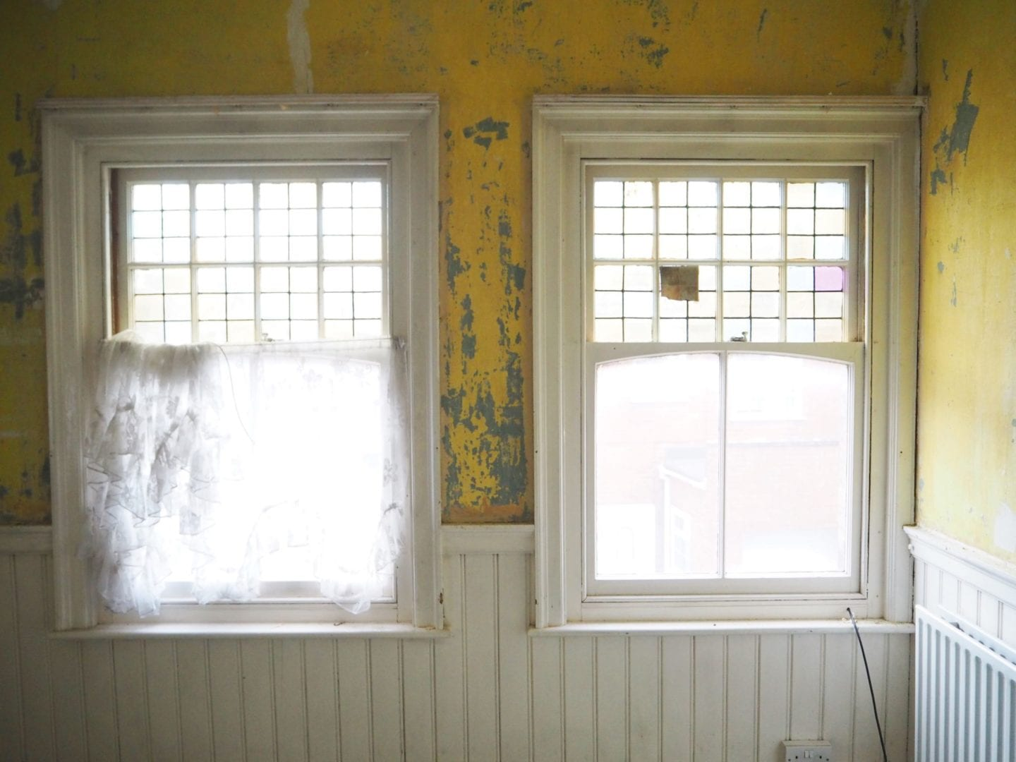 home rennovation fashion for lunch blog stained glass windows bedroom before and afte