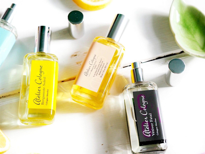 Four fine Atelier Cologne Fragrances