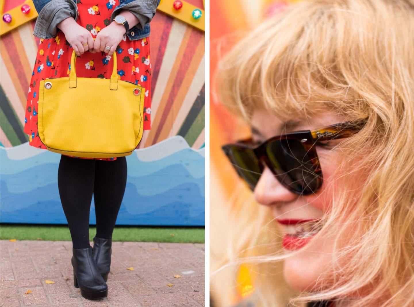 boden yellow handbag fashion for lunch blog