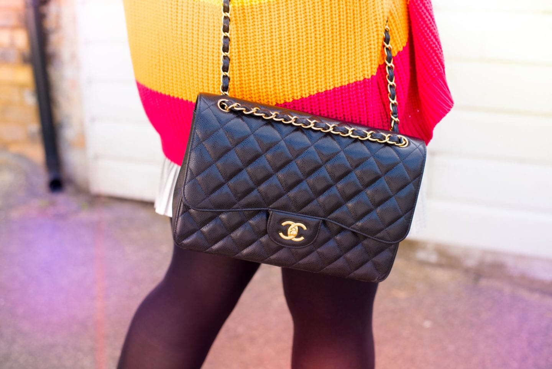 fashion for lunch blog chanel handbag black classic flap bag