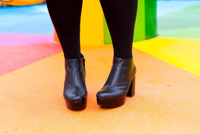 vagabond boots black leather